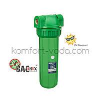 """Магистральный фильтр Aquafilter FHPR1-3S-AB, 10"""" (бактериостатический), фото 1"""