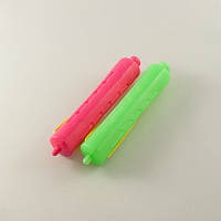 Бигуди-коклюшки пластиковые 8 шт/уп, диаметр 19 мм., фото 1