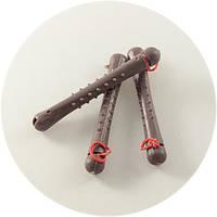 Бигуди-коклюшки пластиковые с резинкой 50шт/уп, диаметр 7 мм, фото 1