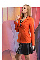 Женский пиджак яркого цвета