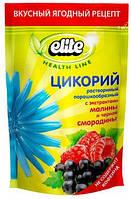 Напиток Цикорий растворимый с экстрактом малины и черной смородины Elite, 100 гр