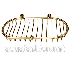 Золота кошик для аксесуарів у ванну Paccini&Saccardi 30117