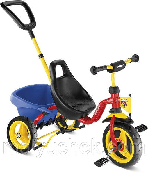 Рехколесный велосипед Puky CAT 1S 2324 red красный