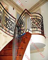 Кованые лестничные перила  41