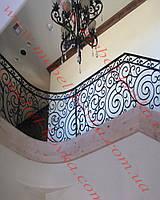 Кованые лестничные перила  44