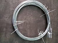 Прут стальной оцинкованный для чистки дымохода (8 м)