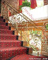 Ограждения лестничные кованые  47