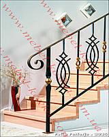 Ограждения лестничные кованые  48