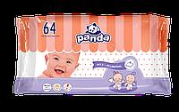 Салфетки влажные Panda, 64 шт.