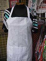 Фартук белый рабочий для поваров.