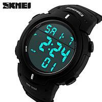 SKMEI 1068 Army sport , мужские спортивные часы, будильник, секундомер, водонепроницаемые, фото 1
