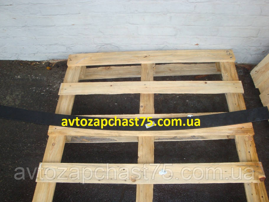 Лист рессоры №2 передний, задний ГАЗ 3302 1525 мм без ушка (Чусовской металургический завод, Россия)