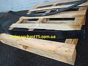Лист рессоры №2 передний, задний ГАЗ 3302 1525 мм без ушка (Чусовской металургический завод, Россия), фото 3