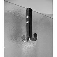 Крючок на стенку душкабины двойной Paccini&Saccardi Accessori Doccia 30025 хром