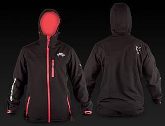 Fox Rage Hooded Black Soft Shell Jacket