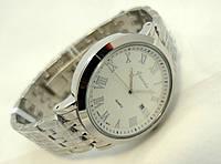 Часы мужские стальные Guardo , Made in Italy, цвет серебро, стальной браслет