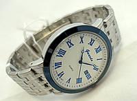 Часы мужские стальные Guardo , Made in Italy, цвет серебро с синим, стальной браслет