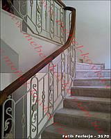 Лестничные ограждения из металла  55