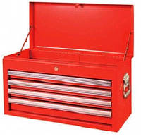 Ящик для инструмента  4 секции  660(L)x313(W)x377(H) mm TORIN TBT6904-X