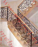 Лестничные ограждения из металла  58
