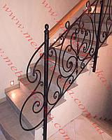 Кованые лестничные перила  59