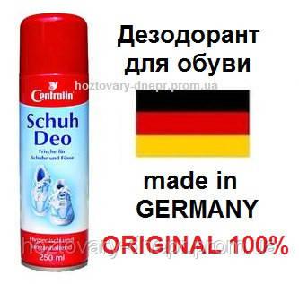 """Дезодорант для обуви Centralin Schuh Deo аэрозоль 250 мл. Германия - Интернет-магазин """"Товары для дома"""" в Днепре"""