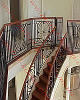 Лестничные ограждения из металла  64
