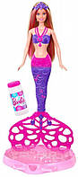 Barbie Bubble-Tastic Mermaid Doll Барби и мыльные пузыри