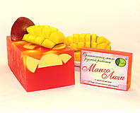 Мыло ручной работы нарезное Манго-Личи