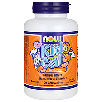 Детский жевательный кальций со вкусом апельсина(Kid Cal Chewable)
