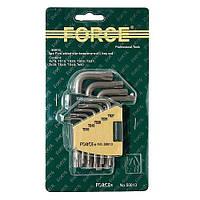 Набор пятигранников с отверстием 9 пр. (ТS10-TS50) FORCE 50913