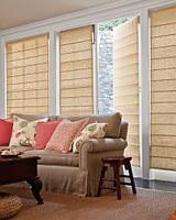 Тканевые римские шторы