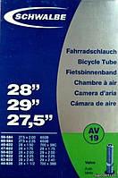 """Камера 27,5-29"""" х 1,5-2,4"""" (40/62 - 584/635) Schwalbe AV19, AV40"""