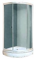 """Душевой угол,душевая кабина Miracle XL01-1(92х92(15)х196) стекло """"фабрик"""""""
