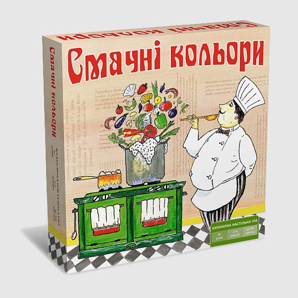 """Настольная игра """"Вкусные цвета"""" ТМ Ариал"""