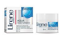 Увлажняющий защитный нежный крем для лица, 50мл, Aqua, Lirene