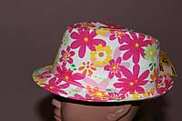 Шляпа детская В цветах