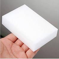 Губка Меламиновая 10*6см*2см, Белая