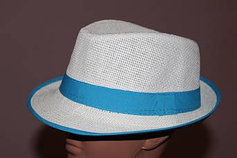 Шляпа детская - подросток. Синий