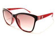 Очки женские Chanel 1090 C5 в красной оправе SM 02364, красные солнцезащитные бренды