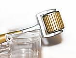 Мезороллер ZGTS +концентрат в подарок, с титановыми позолоченными иглами(192 иглы) Все размеры игл, фото 5