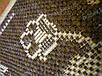 """Безворсовый ковер-рогожка """"Орнамент"""", цвет - натуральный шоколад, фото 9"""