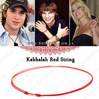 "Красная нить Каббала - ""Red String"" - оберег! , фото 1"