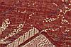 """Безворсовый ковер-рогожка """"Мотивы Востока"""", цвет - красный, фото 4"""