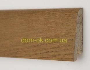 Плинтус шпонированный Ключук Дуб медовый Rustique высотой 60 и 80мм 80х19мм.