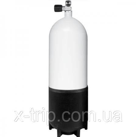 Сталевий балон для дайвінгу BTS Single Steel Cylinder 15 L, 232 Bar, Mono Valve S16116640