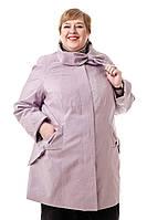 Куртка сиреневая женская демисезонная 72 размера B - 120 Тон 490