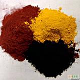 Желтый железоокисный пигмент, фото 2