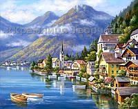 Картина по номерам Австрийский пейзаж, 40х50см (КН2143)