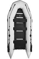 Восьмиместная моторная надувная лодка Bark (Барк) BT 450S (с жестким дном и надувным кильсоном)